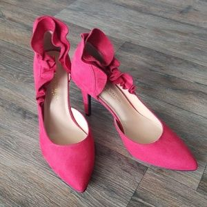 Red Christian Siriano shoes